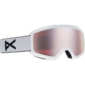 Anon Helix 2.0 Goggles incl. Bonus Lens Men, wit/zilver